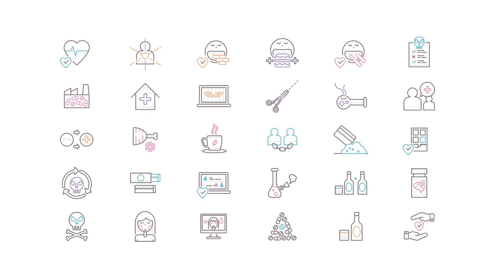 أيقونات مجانية للتصميم