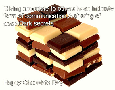 Happy Chocolate Day 2017 quotes Images