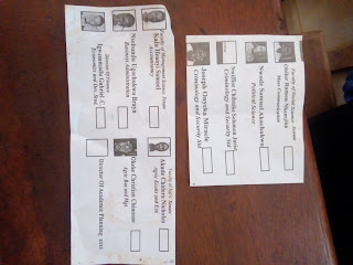 AEFUNAI Election paper front