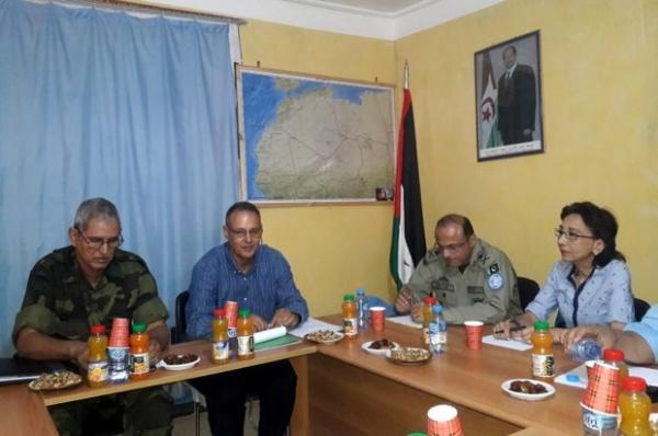Escalade marocaine dans la zone d'Alguergarat: les autorités sahraouies reçoivent l'envoyé spécial du SG de l'ONU