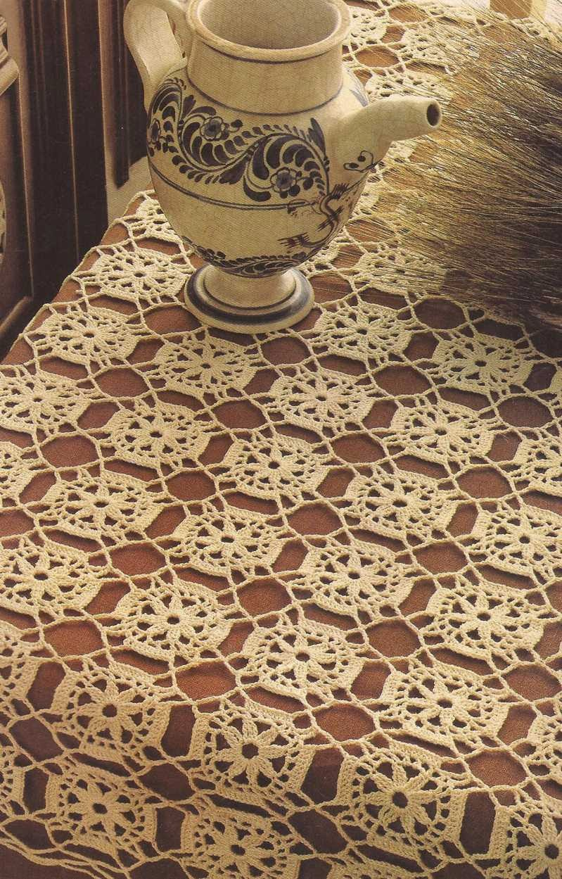 "Tapete ""Mosaico"" a Crochet"