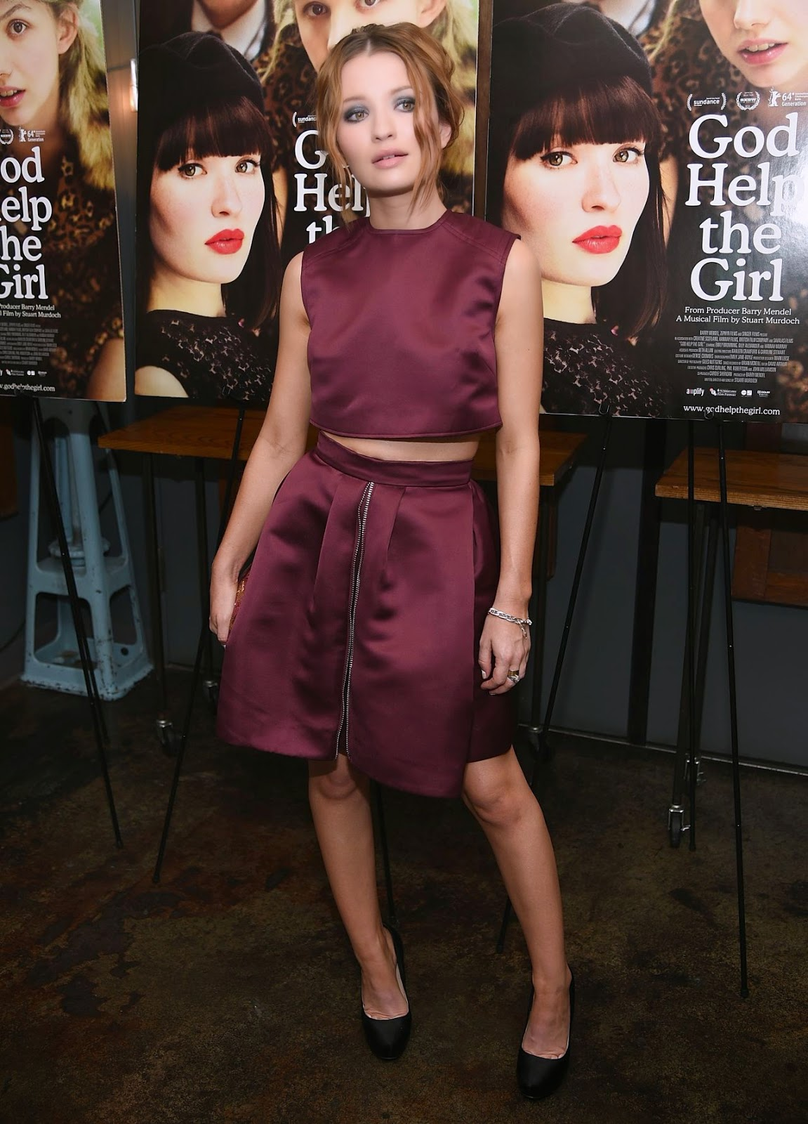 Emily Browning – 'God Help The Girl' Screening in New York City
