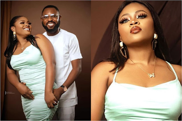 Tega has not come home, I can't even leave my house- Tega husband cries out (video)