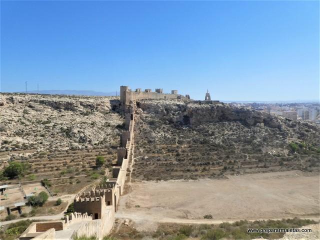 que visitar en la Alcazaba de Almería