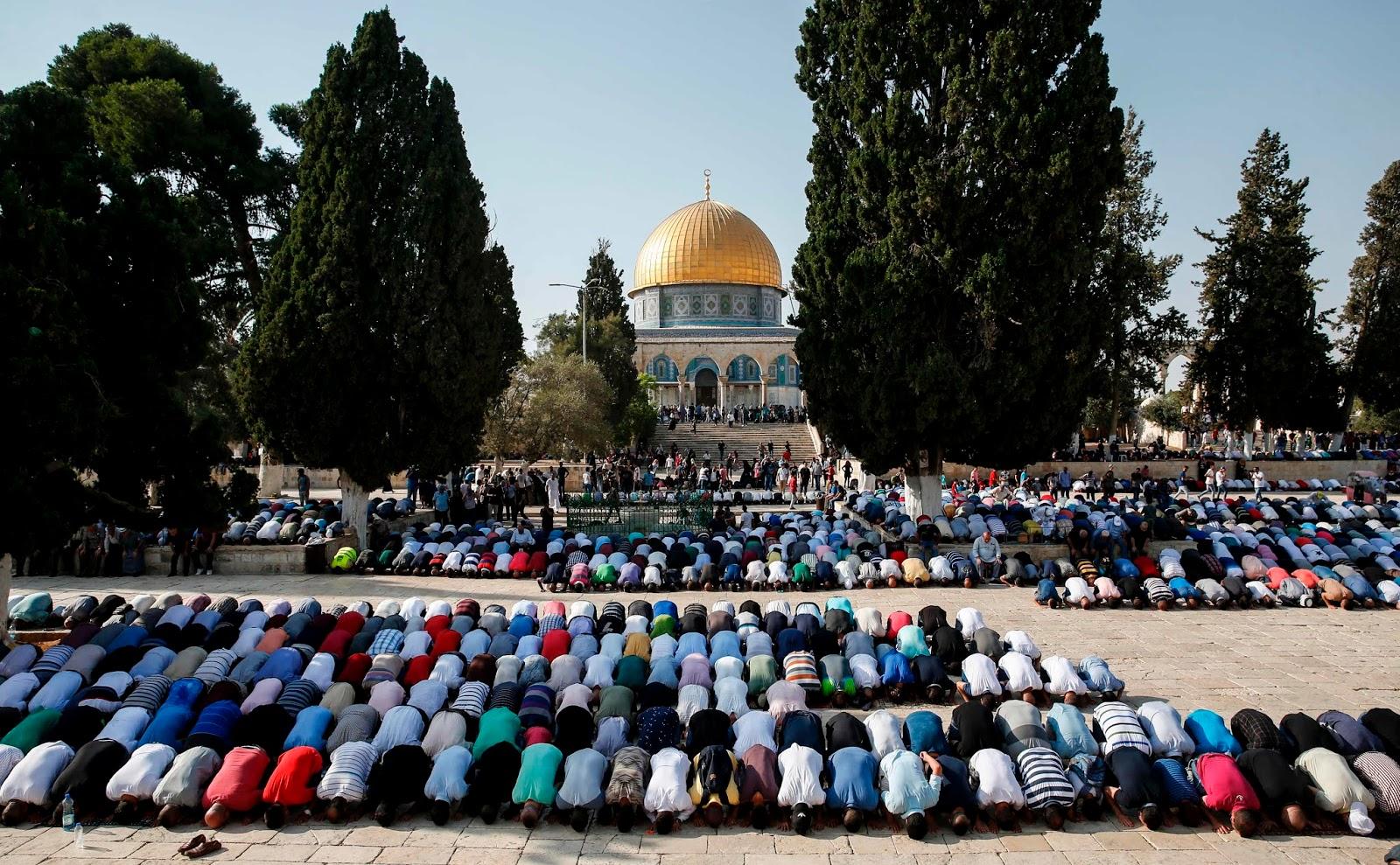Corona Berjangkit, Masjid Al-Aqsa Ditutup untuk Umum