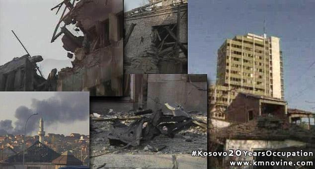 #Kosovo20YearsOccupation #Kosovo #Metohija #NATO #Okupacija