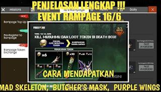 Cara Mendapatkan Butcher Mask di Free Fire