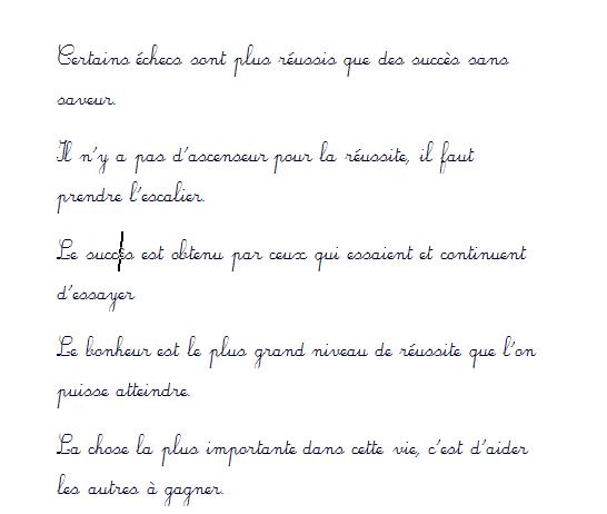 تحميل الخط الفرنسي لكتابة الخطوط بأسلوب خط اليد