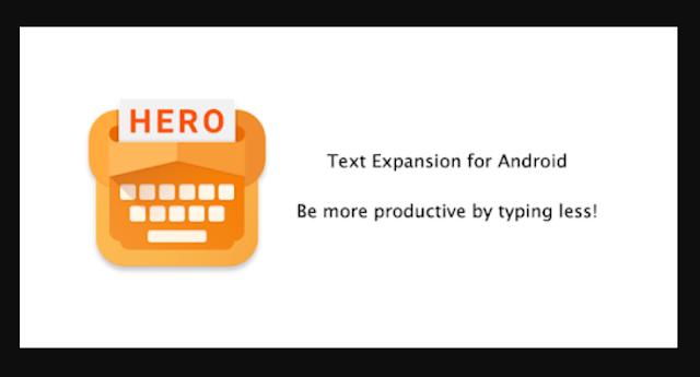 تحميل تطبيق Typing Hero الذي سيجعلك تكتب النصوص بشكل سريع جدا !
