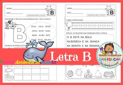 atividades do alfabeto, Letra B, ALFABETO, sistema de escrita alfabética, para imprimir, Atividades de 1º ano, atividades de educação infantil,