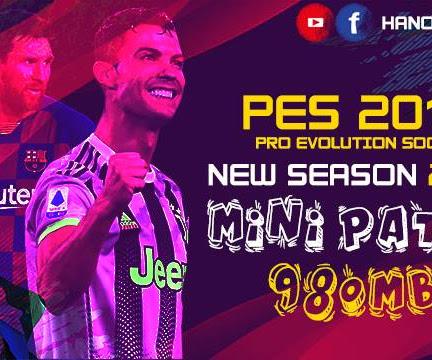PES 2013 Mini Patch Season 2020/2021 + Update V1
