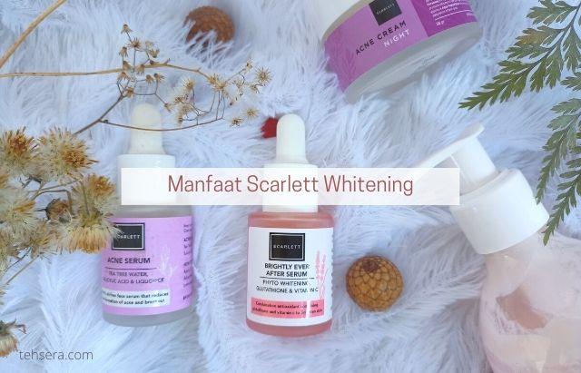 manfaat scarlett whitening untuk wajah