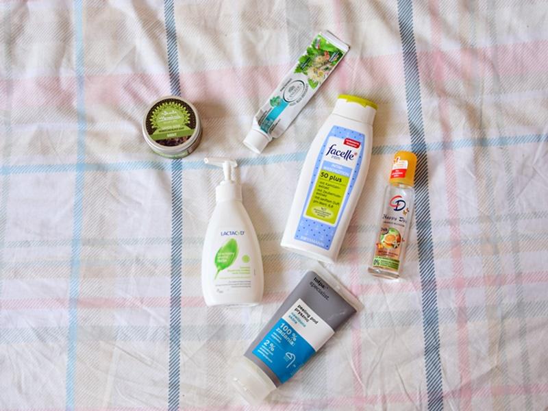 zużycie kosmetyków higienicznych