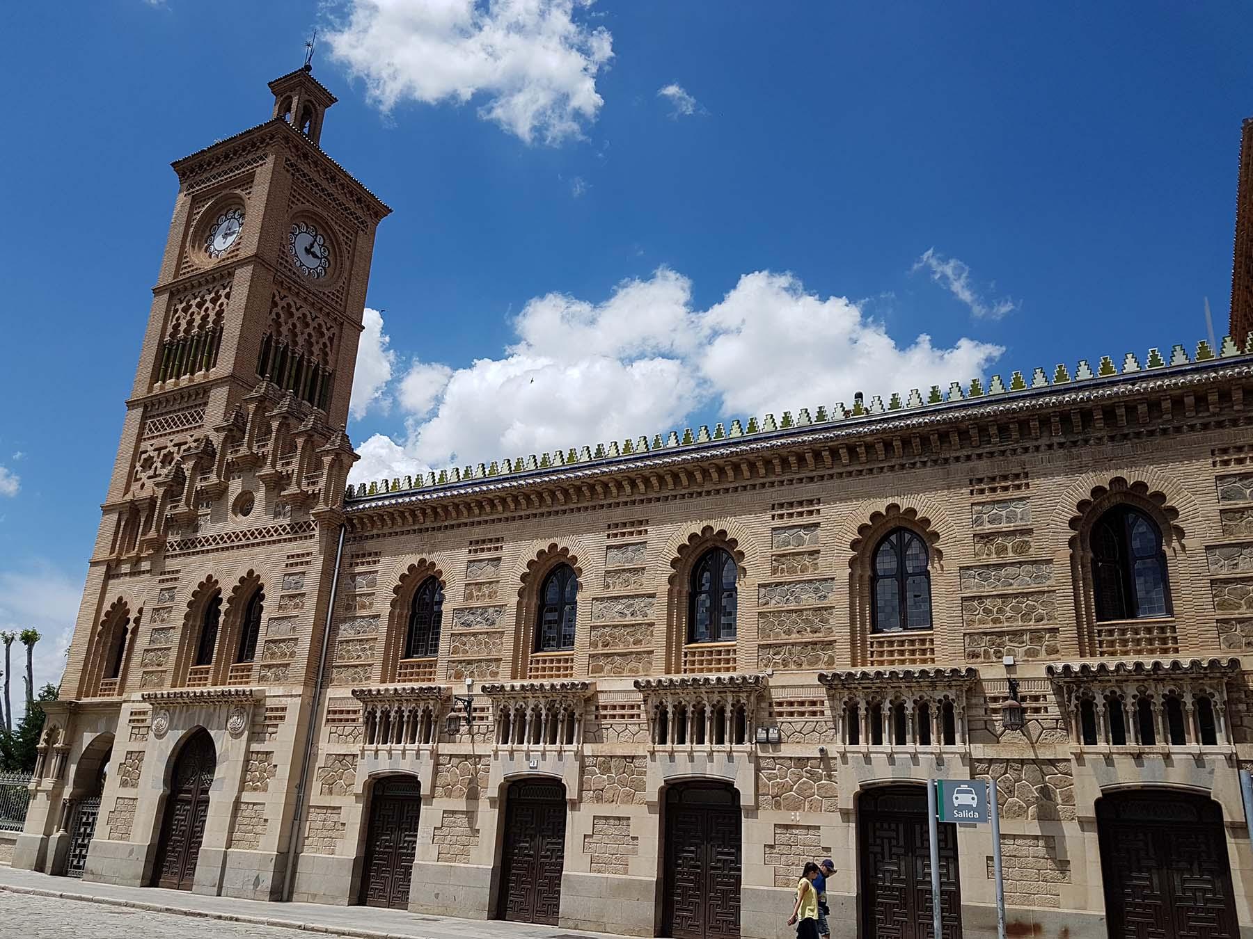 Estação de Trem de Toledo, Espanha.