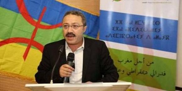 """احمد أرحموش""""، المحامي والرئيس السابق لـ""""الشبكة الأمازيغية من أجل المواطنة"""