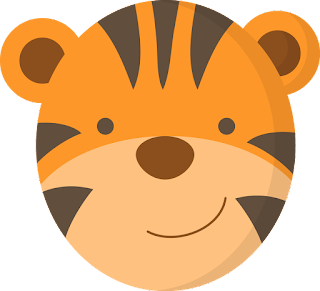 baby jungle faces oh my baby tiger face clipart tiger face clipart easy