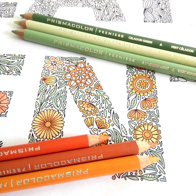 colouring in orange