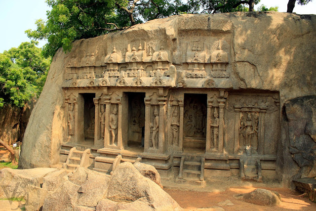 Trimurti cave temple