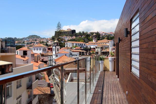 a view from Castanheiro Boutique Hotel