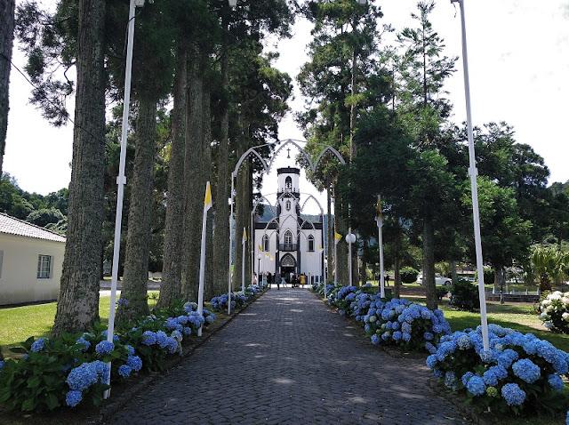 Iglesia de San Nicolas en Sete Cidades (Azores)