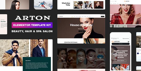 Beauty & Spa Salon Template Kit