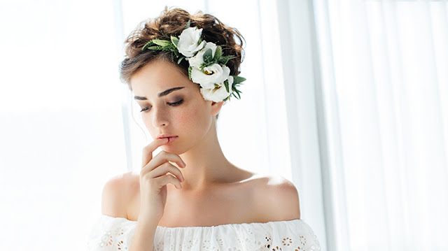 Peinado para novia moño