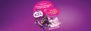 Cara mendaftar Paket KZL super Murah dari AXIS