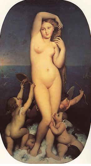 1 - جان أوغست دومينيك آنغر - Jean Auguste Ingres
