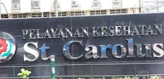 Sejarah Rumah Sakit St Carolus Salemba Jakarta Pusat