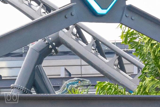Universal Orlando Resort começa testes de sua próxima novidade, a VelociCoaster - Atualização 10