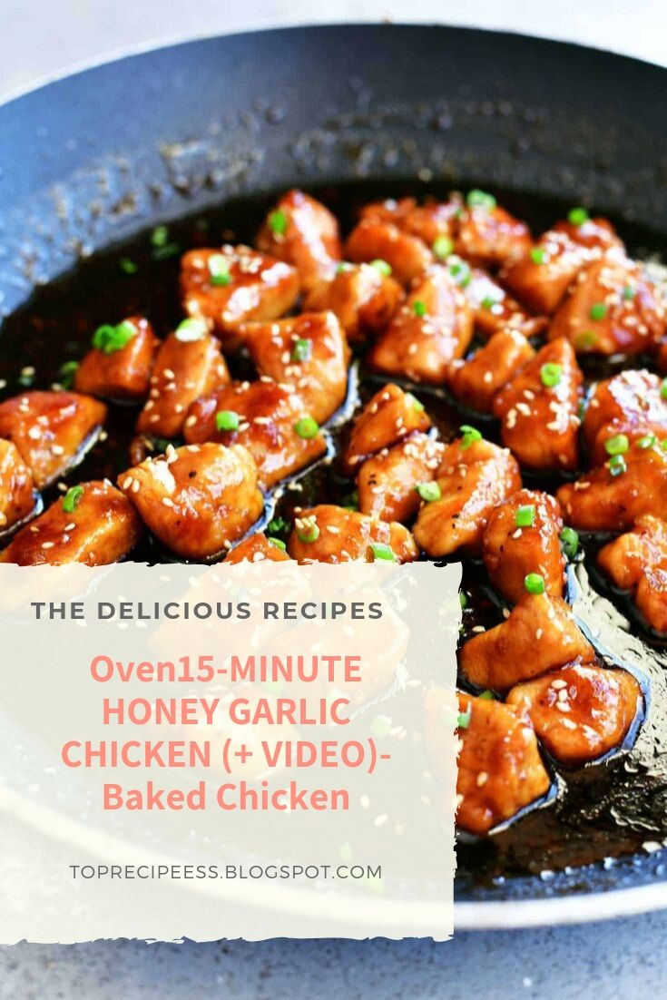 15-MINUTE HONEY GARLIC CHICKEN (+ VIDEO) | chicken marinade, chicken spaghetti, lemon chicken, teriyaki chicken, chicken potpie, chicken fajitas, ranch chicken, chicken alfredo, fried chicken, chicken tenders, chicken salad, chicken tacos, shredded chicken, slow cooker chicken, bbq chicken, grilled chicken, chicken wings, chicken soup, stuffed chicken, chicken chili, whole chicken, buffalo chicken, chicken coop #chicken alaking #chicken acomfort foods #chickenarice #chickenameals #chickenalowcarb #chickenaglutenfree #chickenarecipe #chickenadishes #chickenahealthy #chickenaeasydinners #chickenaovens #chickenacooking #chickenafamilies #chickenasoysauce #chickenbcrockpot #chickenbeasyrecipes #chickenbdinners #chickenbbbqsauces #chickenblowcarb #chickenbfamilies #chickenccrockpot #chickencoliveoils #chickenclowcarb #chickencglutenfree #chickencdinners #chickencfamilies
