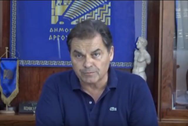Δ.Καμπόσος: Δεν έχω επικοινωνία με τον μεγαλοδύναμο για να του πω να μην βρέχει στο Άργος (βίντεο)