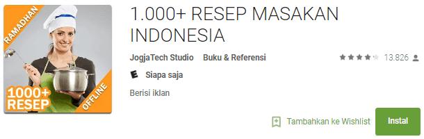 1.000+ RESEP MASAKAN INDONESIA