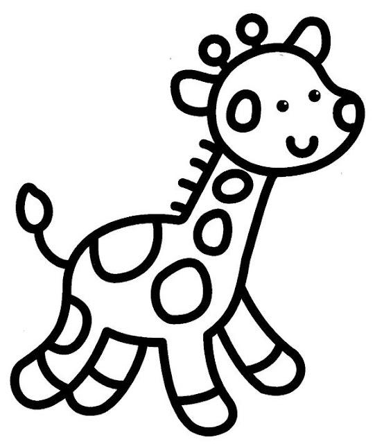 رسومات بسيطة للتلوين للاطفال الصغار