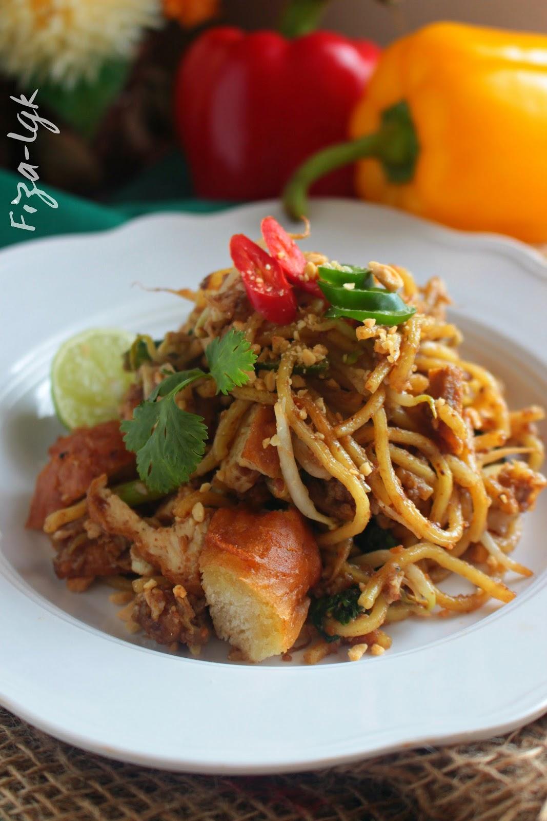 Mee Goreng Mamak Sedap Fizas Cooking
