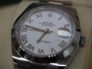 ロレックス 126300 デイトジャスト41ミリ お買い取り致しました