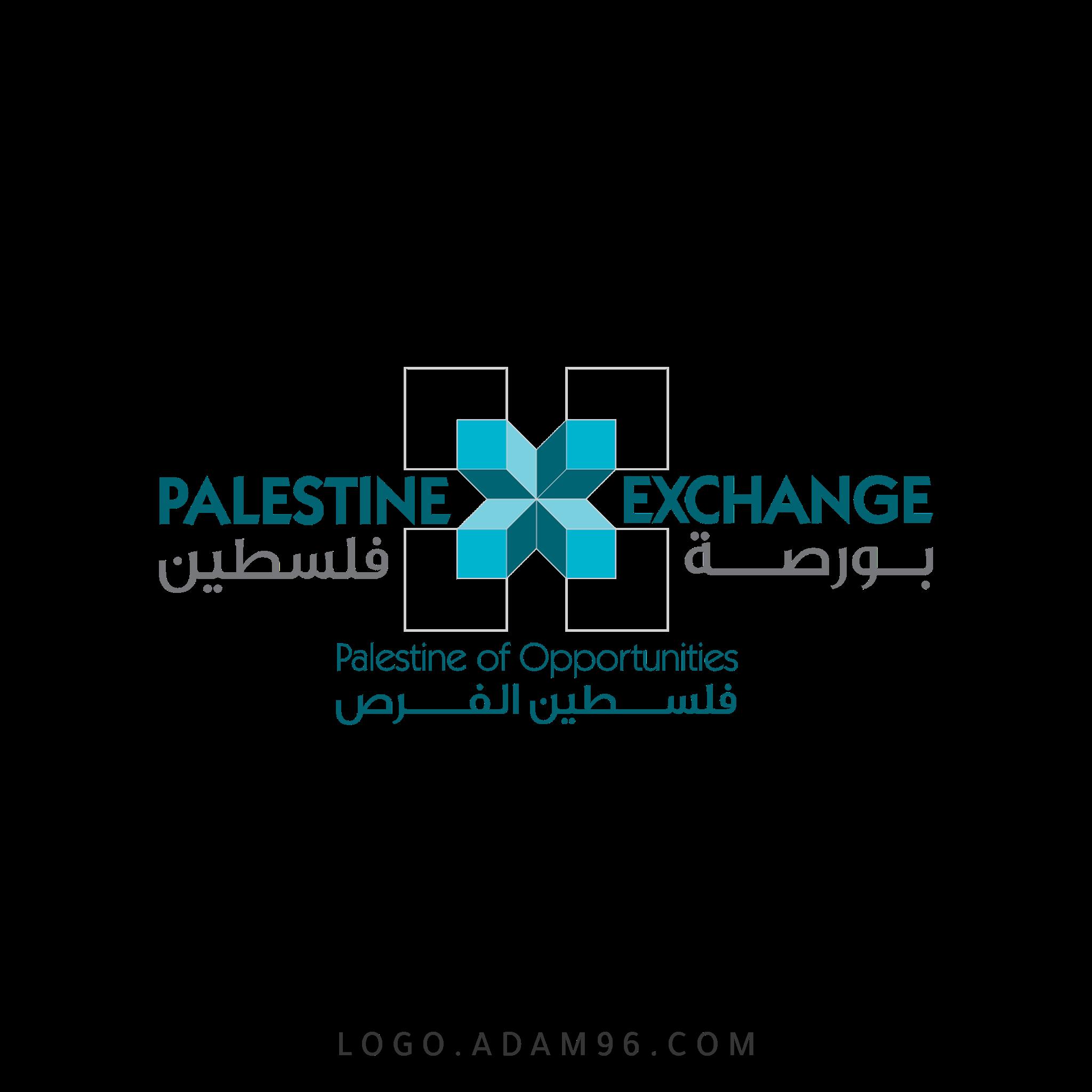 تحميل شعار بورصة فلسطين لوجو رسمي عالي الجودة PNG