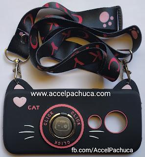 Gato negro funda para celular