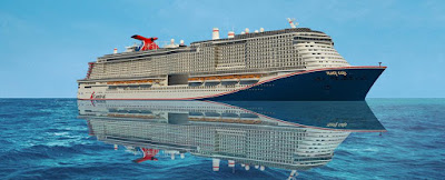 Delivery of Carnival Cruise's Mardi Gras Delayed - New York Cruises Cancelled.