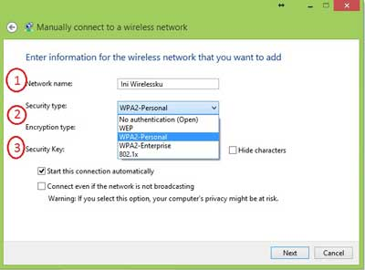 Isikan Data Wireless Anda - cara sharing file antar laptop