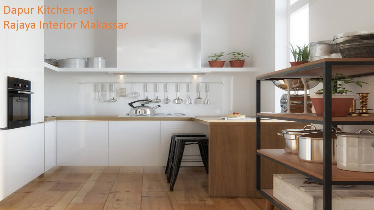 Jasa produksi dapur set makassar kitchen set rajaya interior makassar