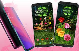Flower Theme Oppo A83, F5, F7, A3S, A3, A5 dan Realme