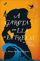 Capa do livro a garota que lia as estrelas