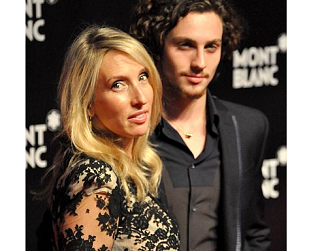 Image: Sam Taylor-Wood and toyboy fiancé Aaron Johnson welcome their second child