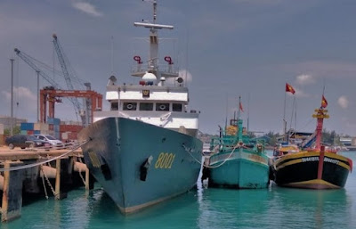 Diamankan Kapal Ikan Asing Bendera Vietnam, Cari Ikan di Perairan Natuna