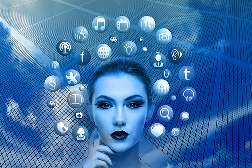 Features of Internet chat, social media, e-mail, FTP