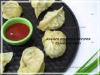 Simple SteamedChicken Momos