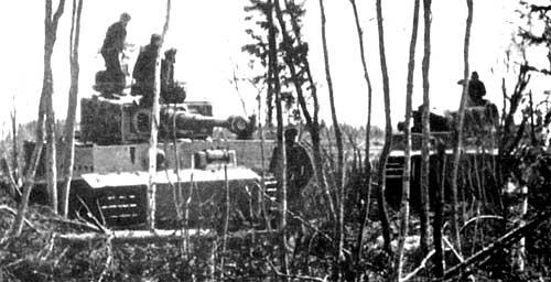 """Немецкий тяжелый танк Pz VI """"Тигр I"""" """"Tiger I"""