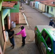 Empresário é assaltado na porta do seu estabelecimento em Pedreiras em plena luz do dia