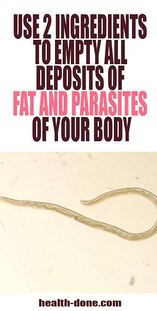 remove fat and parasites in body